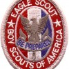 """Eagle Scout is the highest advancement rank in Boy Scouting. Eagle is earned after the rank of Life. """"Once an Eagle, always an Eagle""""."""