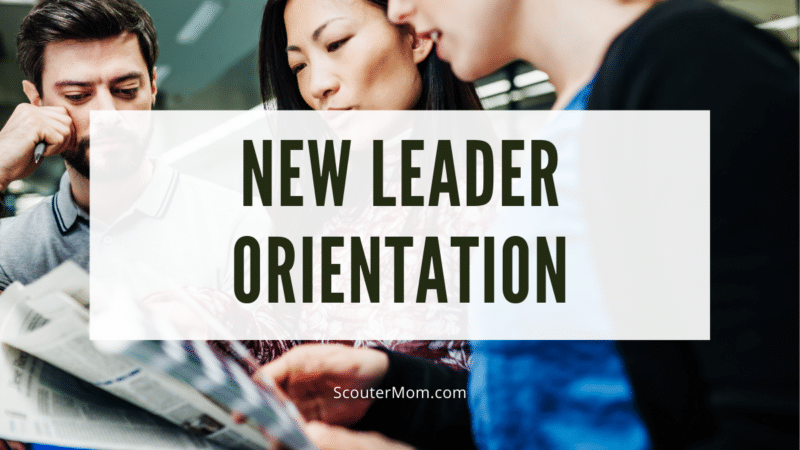 What would you include in a Cub Scout new leader orientation?
