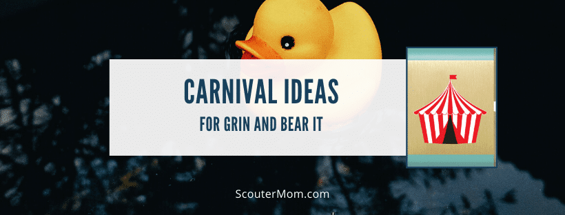 Carnival Ideas for Grin and Bear It