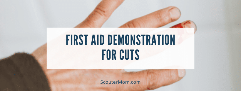 First Aid Demonstration for Cuts