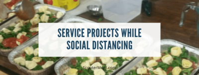 Service Projects While Social Distancing
