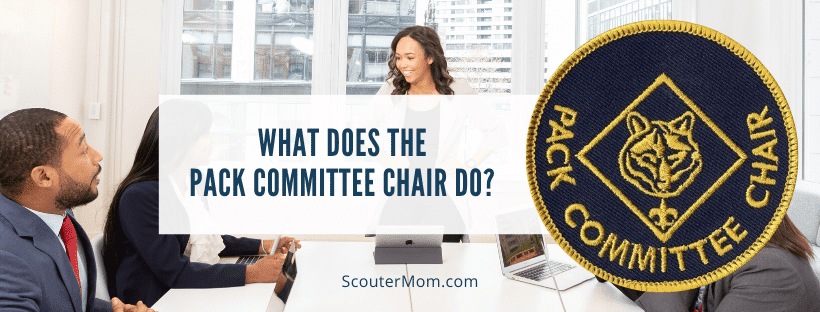 What Does the Pack Committee Chair Do