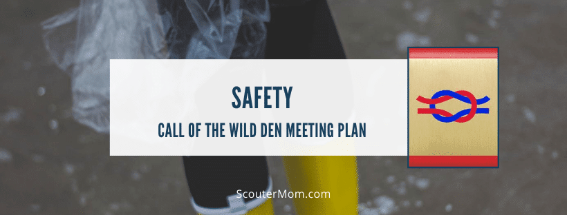 Safety Call of the Wild Den Meeting Plan