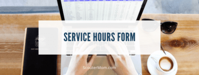 Service Hours Form