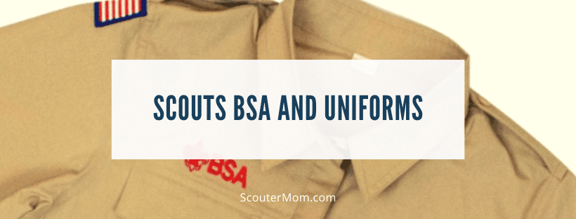 Scouts BSA and Uniforms