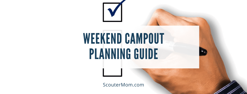 Weekend Campout Planning Guide