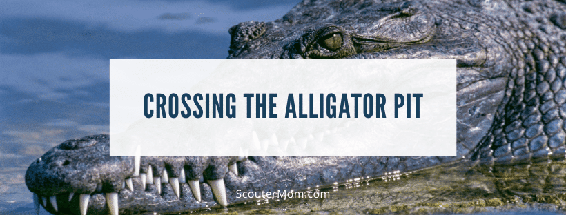 Crossing the Alligator Pit