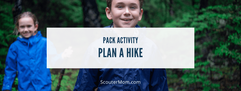 Plan a Hike Pack Activity