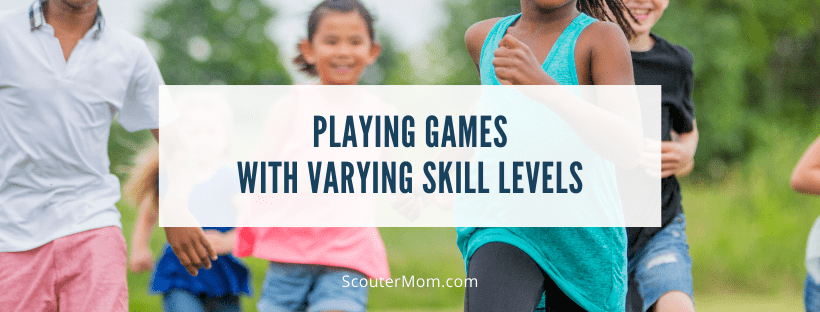 Playing Games with Varying Skill Levels