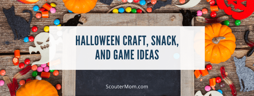 Halloween Craft Snack and Game Ideas
