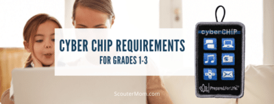 Cyber Chip Requirements for Grades 1 3