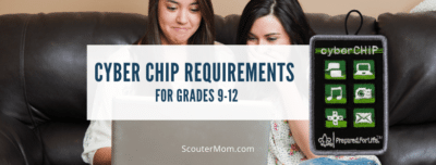 Cyber Chip Requirements for Grades 9 12
