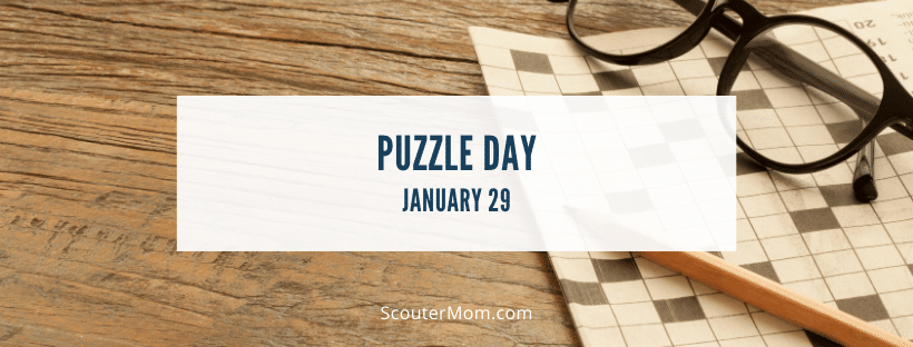 Puzzle Day January 29