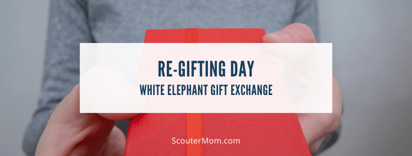 Re gifting Day White Elephant Gift