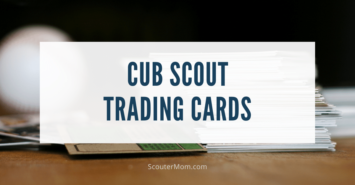 Cub Scout Trading Cards