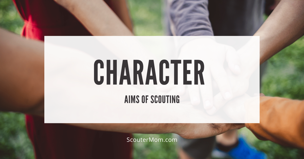 Aims of Scouting Character