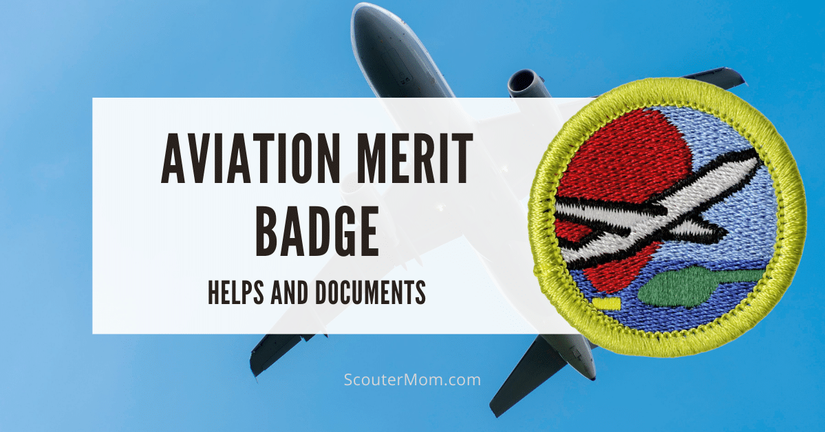 Aviation Merit Badge Helps and Documents