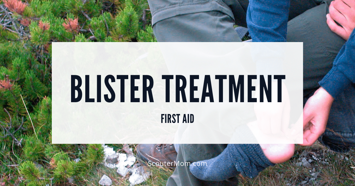 Blister Treatment First Aid