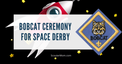 Bobcat Ceremony for Space Derby