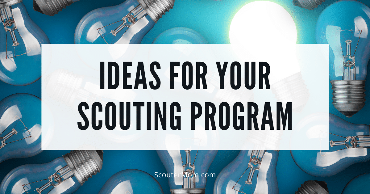 Ideas for Your Scouting Program
