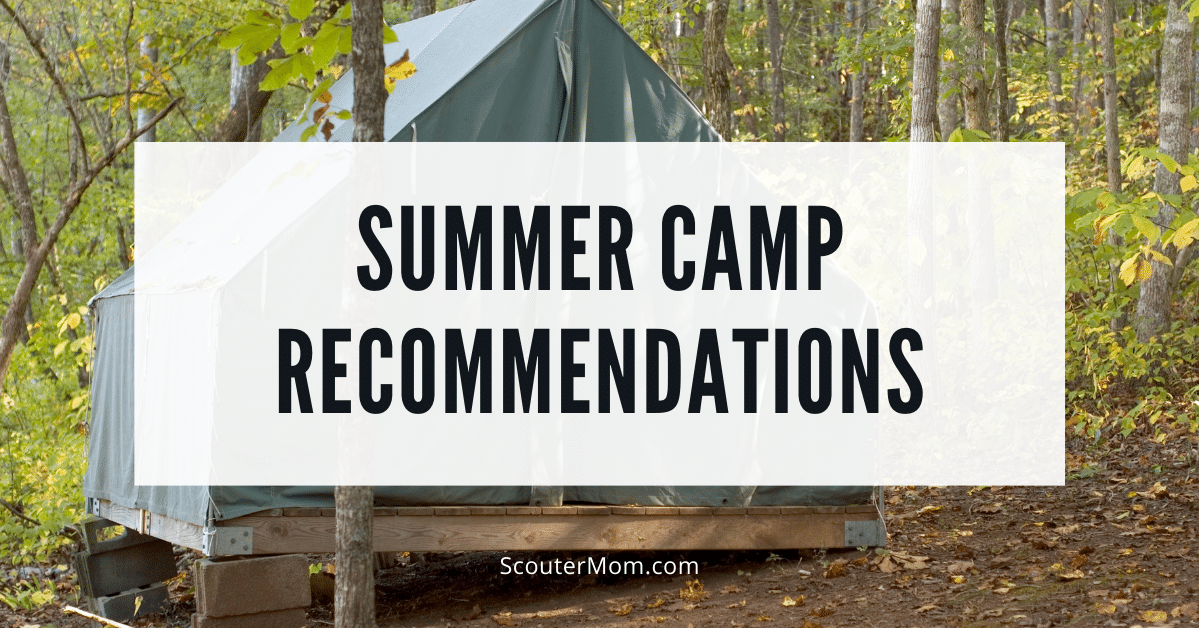 Summer Camp Recommendations