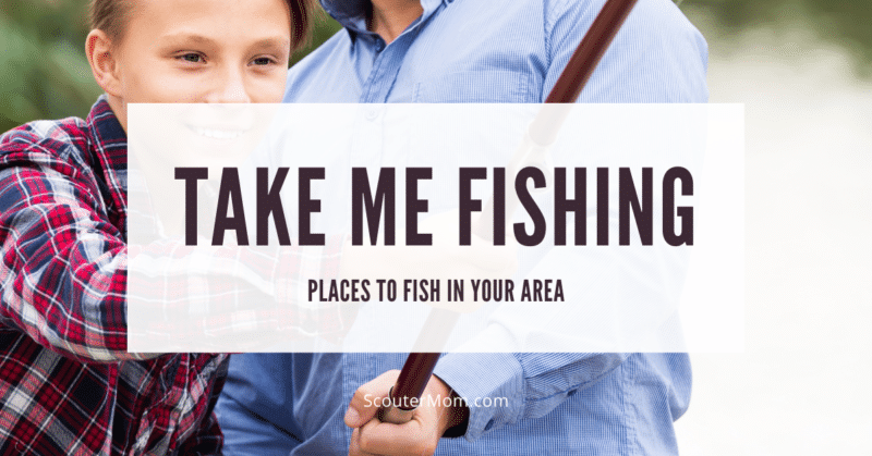 Take Me Fishing Places to Fish in Your Area