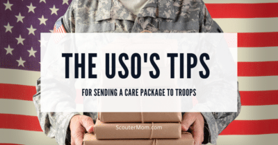 The USOs Tips for Sending a Care Package to Troops