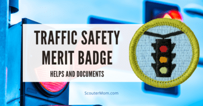 Traffic Safety Merit Badge Helps and Documents