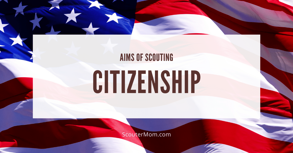 Aims of Scouting Citizenship