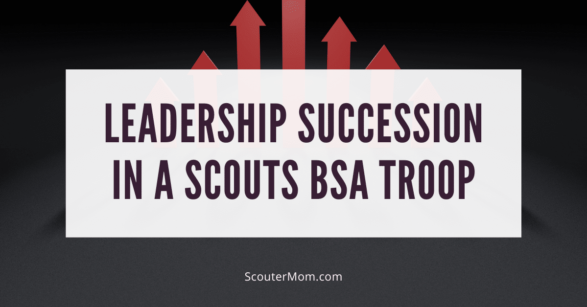 Leadership Succession in a Scouts BSA Troop