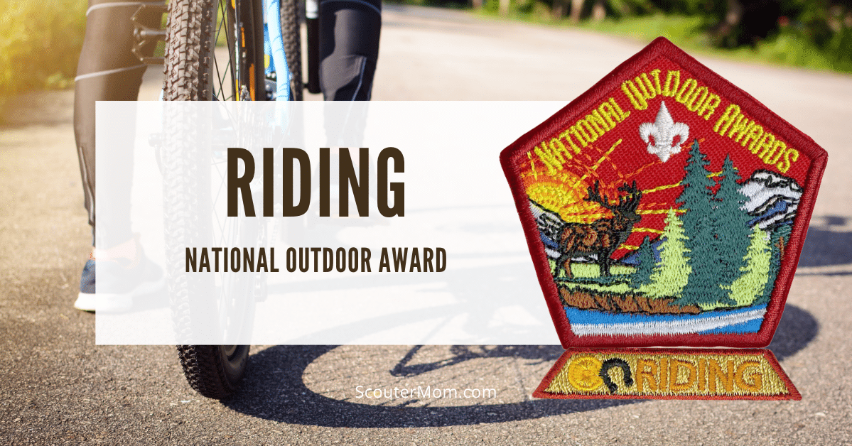 Riding National Outdoor Award Helps and Documents