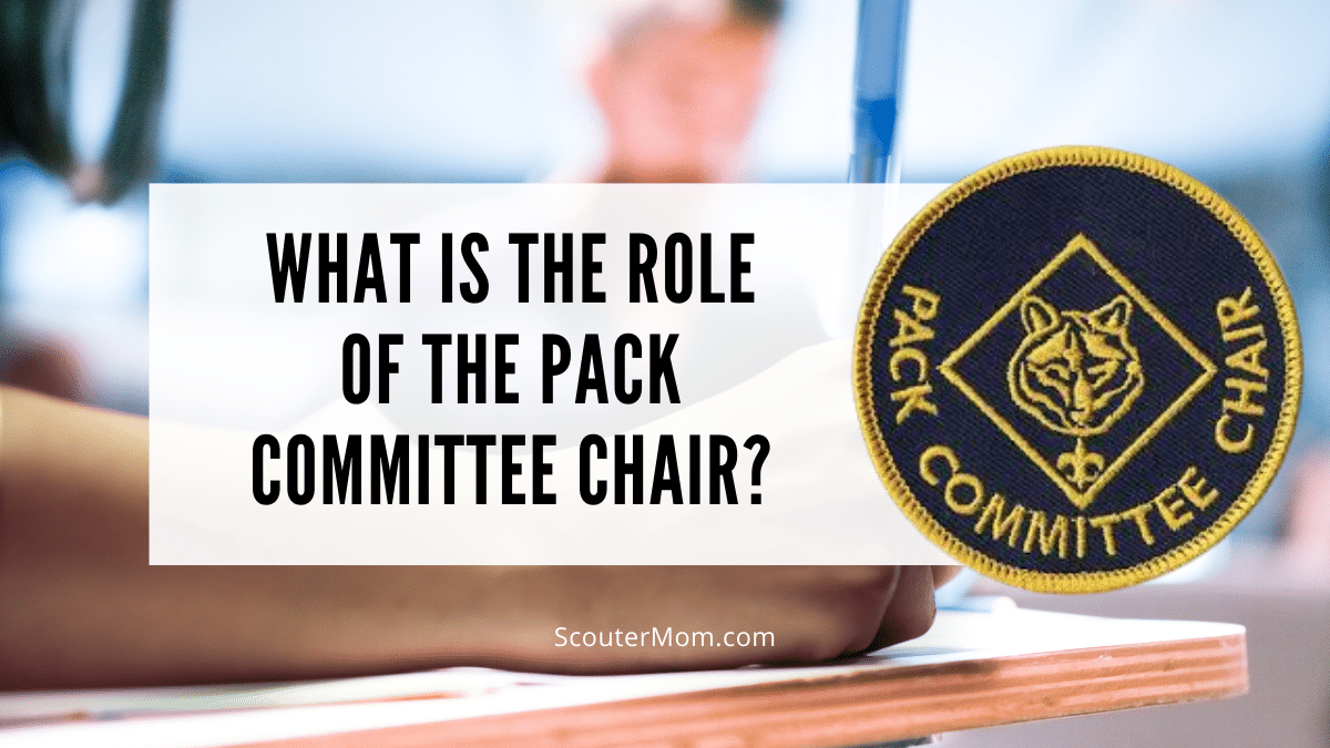What Is the Role of the Pack Committee Chair