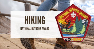 Hiking National Outdoor Award Helps and Documents