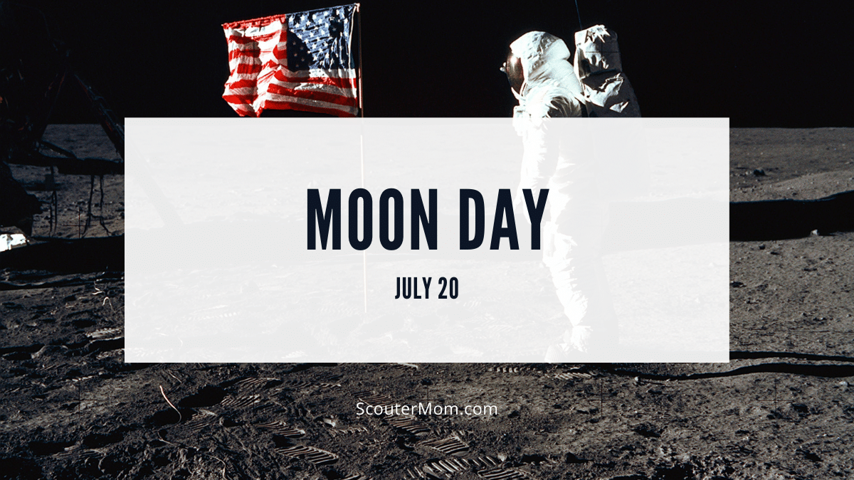 Moon Day is celebrated on July 20 of each year to remember when man first walked on the moon.