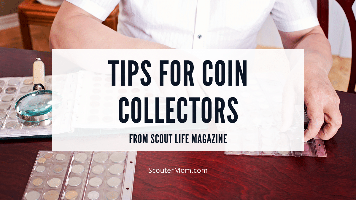 Tips for Coin Collectors from Scout Life Magazine