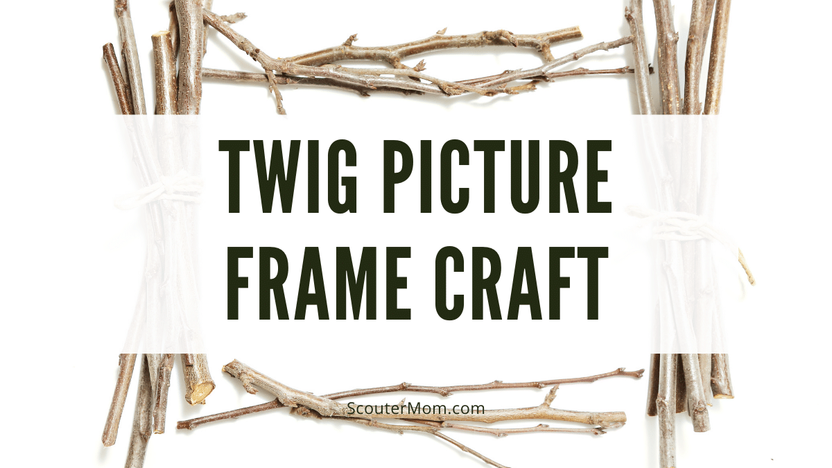 Twig Picture Frame Craft