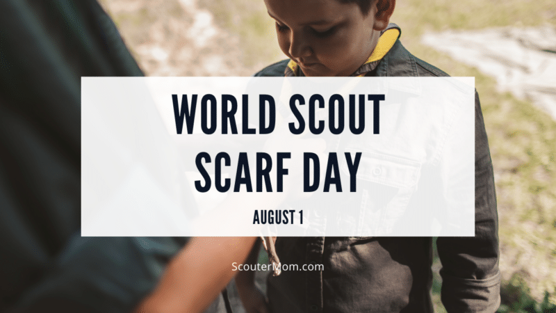 World Scout Scarf Day celebrates the neckerchief as an international symbol of Scouting.