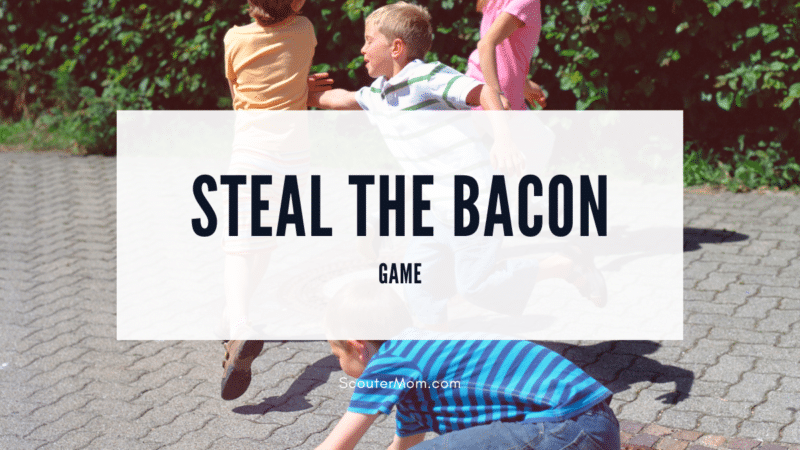 Learn how to play steal the bacon, an active game