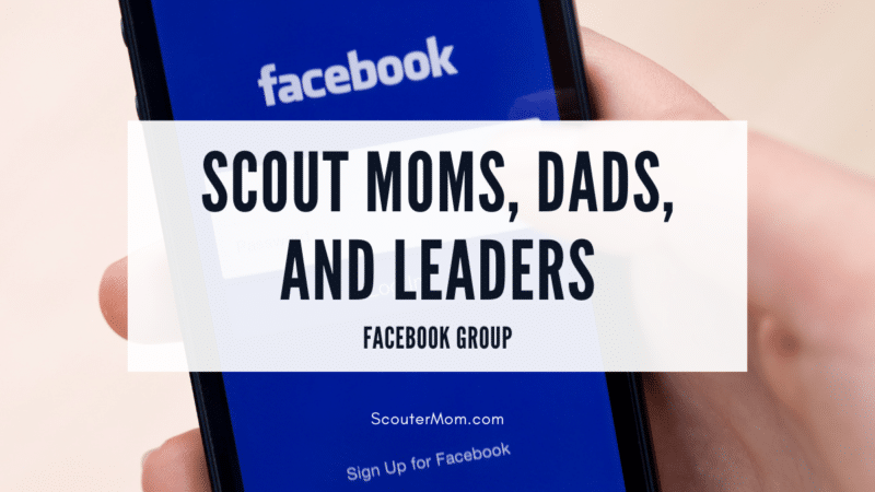 Scout Moms Dads and Leaders Facebook Group