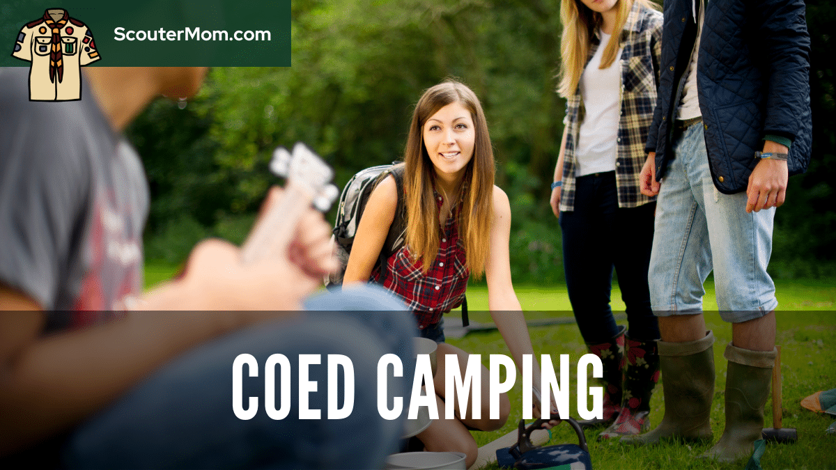 Camping With a Coed Venturing Crew