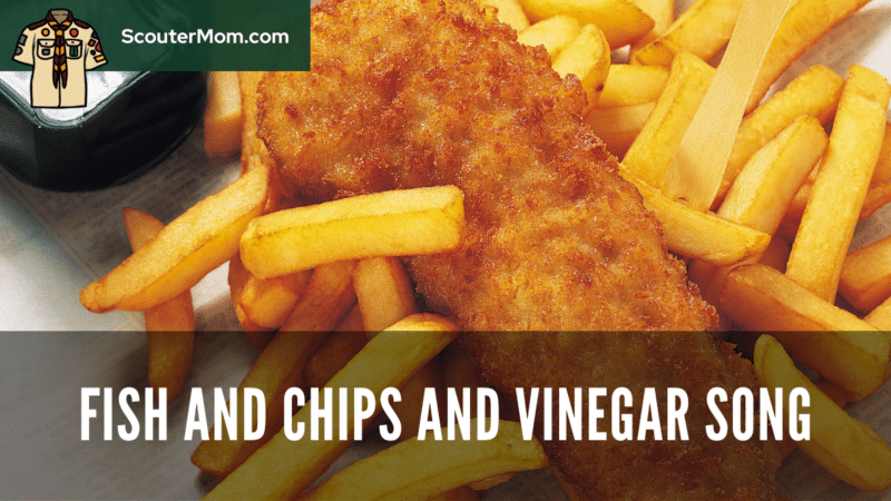 An image of fish and fries to go with this fish and chips and vinegar song.