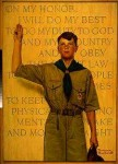 Norman Rockwell's Boy Scout painting