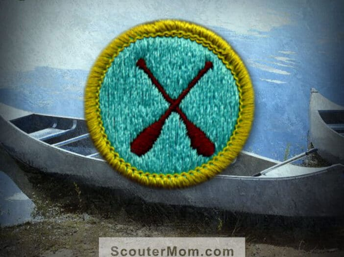 Canoeing Merit Badge for Boy Scouts
