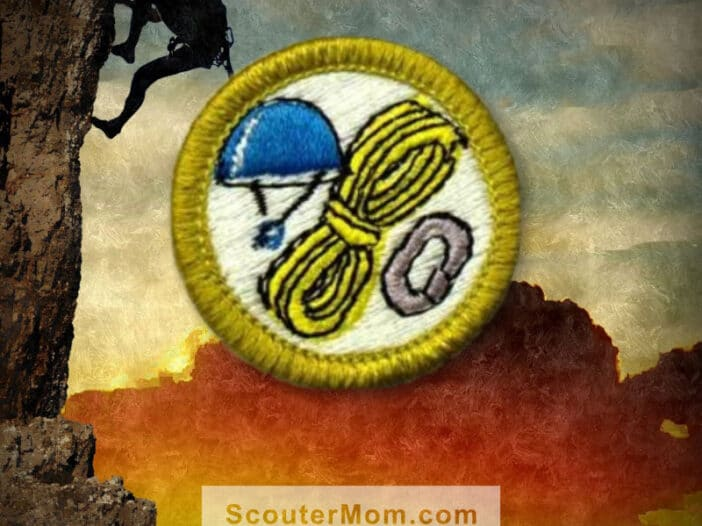 Climbing Merit Badge for Boy Scouts
