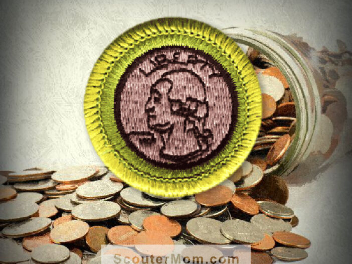 Coin Collecting Merit Badge for Boy Scouts