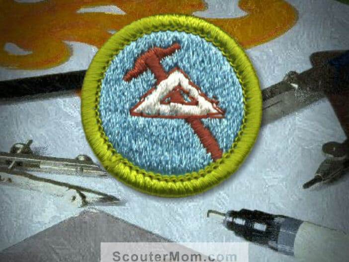 Drafting Merit Badge for Boy Scouts