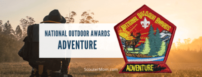 National Outdoor Awards Adventure for Scouts BSA Boy Scouts Venturers