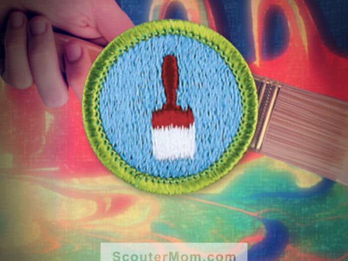 Painting Merit Badge for Boy Scouts