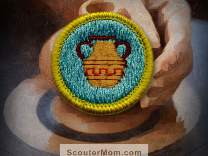 Pottery Merit Badge for Boy Scouts