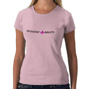 Show your Scout pride with this Scout mom shirt. Reads Scouter Mom